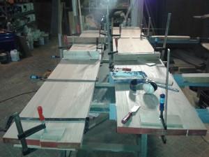 eiken houten tafel meubelmaker timmerman zwolle