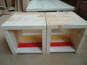houten hockers meubelmaker timmerman zwolle