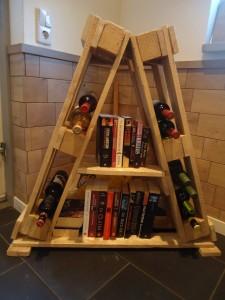 houten wijnrek pallet hout meubelmaker timmerman zwolle