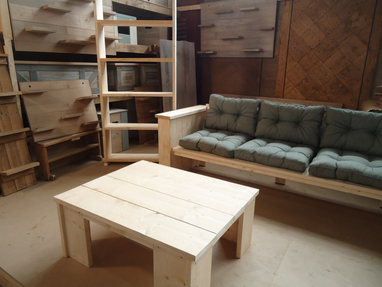 Loungebank hout interesting loungesets tuin wicker loungebank