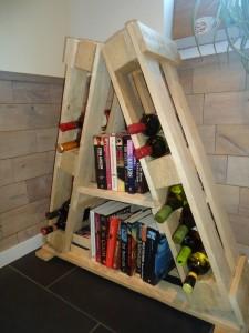 boekenkast pallethout meubelmaker zwolle