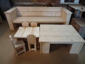 steigerhout tuintafel meubelmaker zwolle