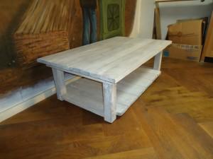 robuuste salontafel steigerplanken meubelmaker zwolle
