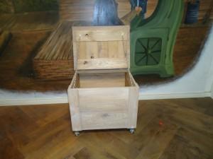 houten kist wielen zwolle