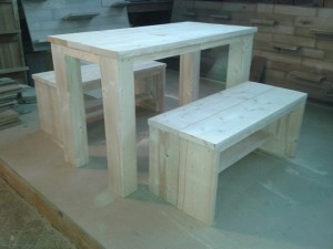 steigerhout tuinset meubelmaker zwolle