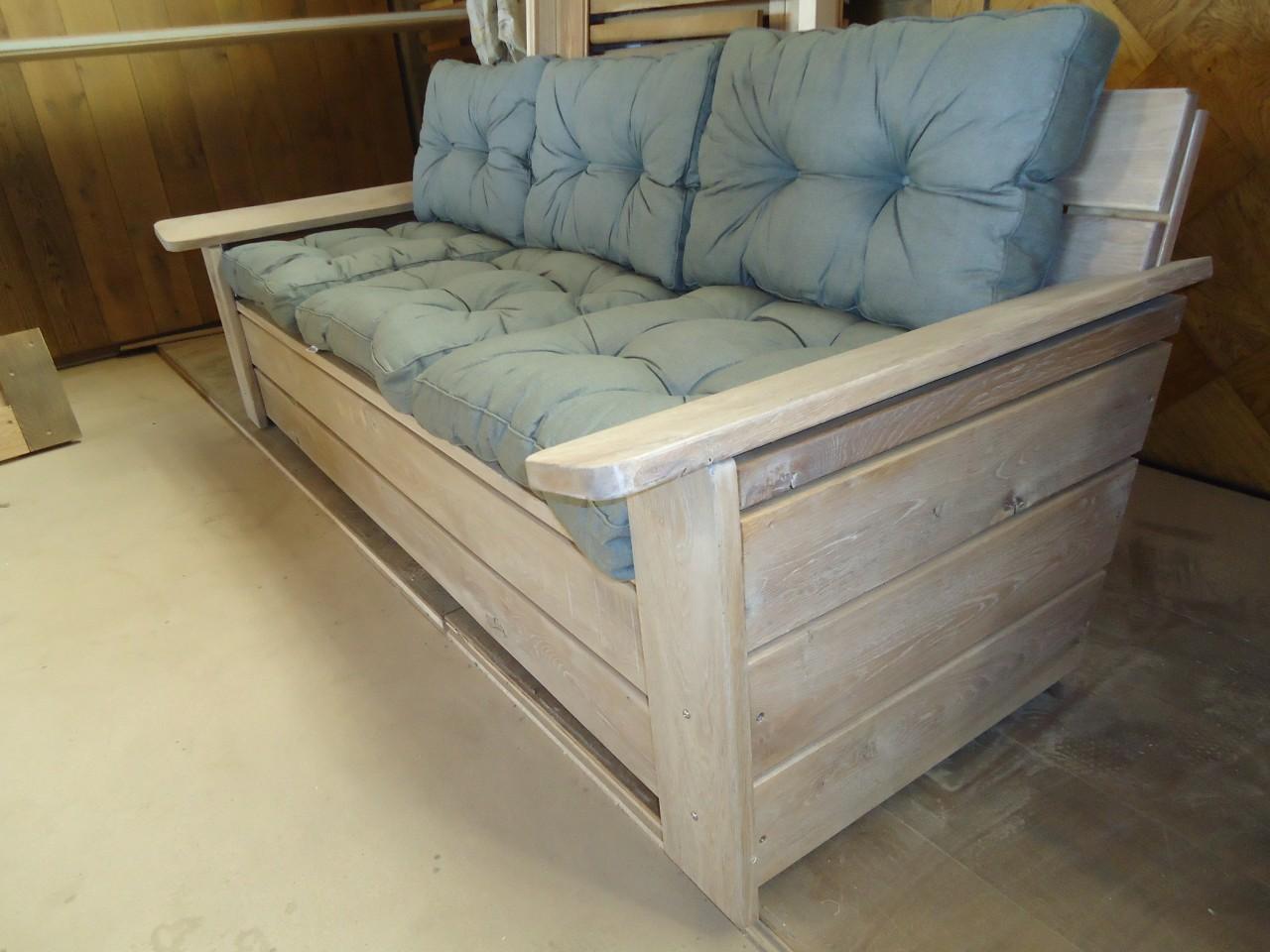 Stoere pallet meubels voor in je tuin of op het balkon.