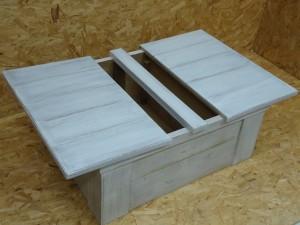 brocante houten kist