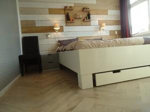visgraatvloer houtenwand wandbord meubelmaker timmerman zwolle