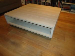 steigerhouten salontafel wielen meubelmaker zwolle timmerman robuuste tafel
