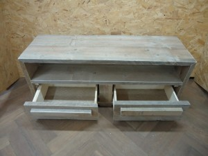 tv meubel steigerplanken meubelmaker timmerman zwolle