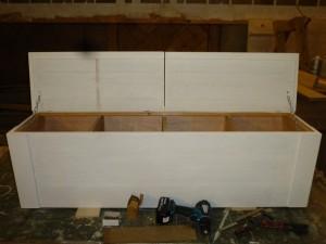 houten eiken kist